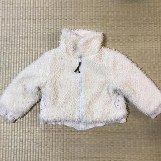 ビケット(Biquette)のBiquette ビケット 白ふわふわジャケット ジャンパー 100 キムラタン(ジャケット/上着)