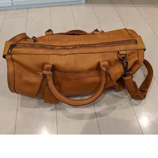 ZARA - ZARA 革製 ボストンバッグ