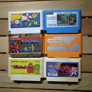 ファミリーコンピュータ - ファミコン6本セット マドゥーラ ポンキッキ マリオ