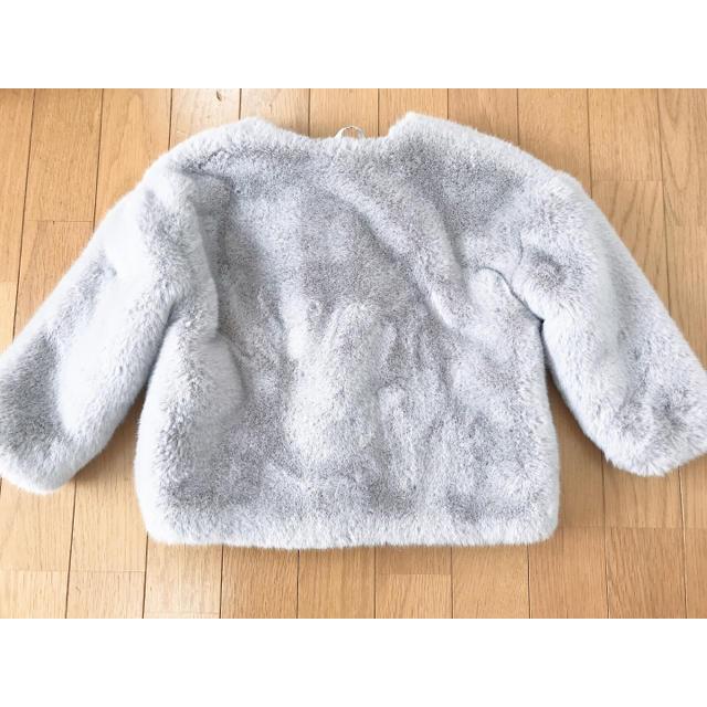 ZARA KIDS(ザラキッズ)のZARA KIDS ザラキッズ 🌟 フェイクファーコート キッズ/ベビー/マタニティのキッズ服 女の子用(90cm~)(ジャケット/上着)の商品写真