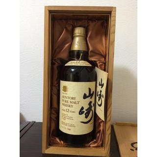 サントリー - サントリー 山崎12年 特級ラベル 木箱入り 760ml ウイスキー
