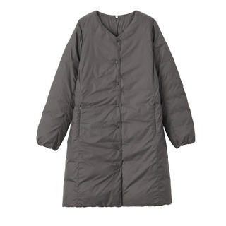 MUJI (無印良品) - 無印良品 ノーカラーコート XLサイズ