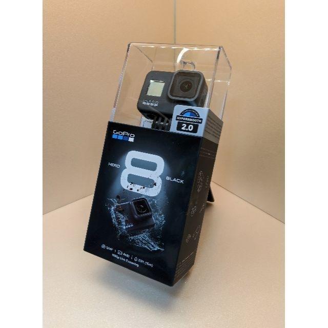 GoPro(ゴープロ)の【新品未開封】GoPro HERO8 CHDHX-801-FW スマホ/家電/カメラのカメラ(ビデオカメラ)の商品写真