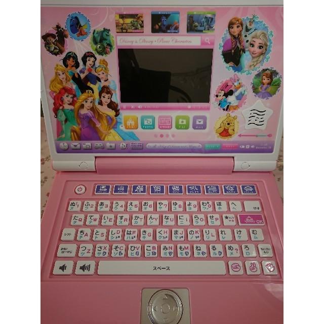 BANDAI(バンダイ)の《いちご様専用》ディズニー プリンセス ワンダフルスイートパソコン キッズ/ベビー/マタニティのおもちゃ(知育玩具)の商品写真