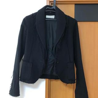 ルシェルブルー(LE CIEL BLEU)のアンシャントマン ウールジャケット(テーラードジャケット)