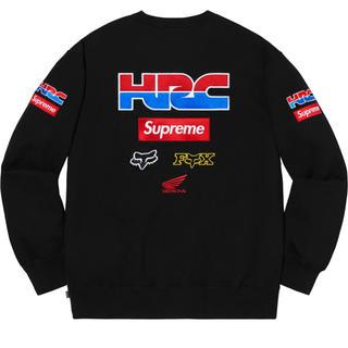 シュプリーム(Supreme)のSupreme®/Honda®/Fox Racing Crewneck Sサイズ(トレーナー/スウェット)