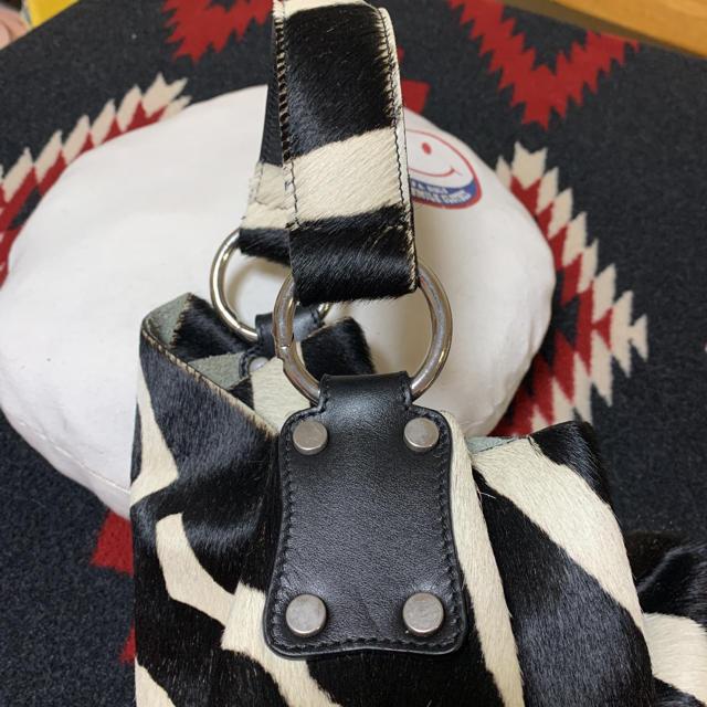 DEUXIEME CLASSE(ドゥーズィエムクラス)のマウリツィオ タユーティ MAURIZIO TAIUTI ハラコ ゼブラ柄トート レディースのバッグ(トートバッグ)の商品写真