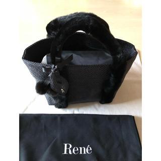 René - Rene ルネ 博多阪急限定 バッグ ミンク サクランボ