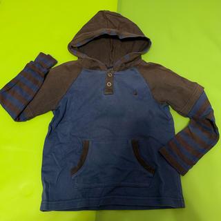 イーストボーイ(EASTBOY)のイーストボーイ 男児 長袖フード付きカットソー 110cm(Tシャツ/カットソー)