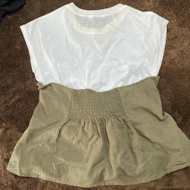 JEANASIS(ジーナシス)のジーナシス☆トップス レディースのトップス(Tシャツ(半袖/袖なし))の商品写真
