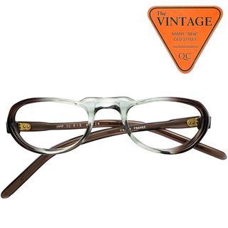 SALE!未使用!60s フランスヴィンテージ メガネリーディンググラス老眼鏡(サングラス/メガネ)