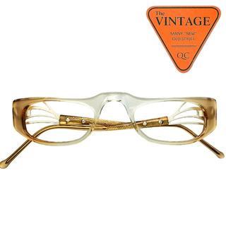 SALE!未使用60s USAビンテージメガネハーフアイリーディンググラス老眼鏡(サングラス/メガネ)