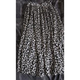 しまむら - 小花柄ロングスカート