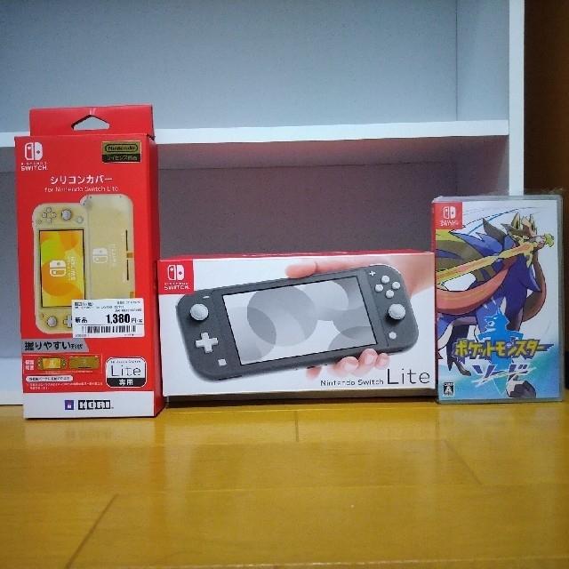 Nintendo Switch(ニンテンドースイッチ)のNintendo Switch Liteポケモンソードニンテンドースイッチ エンタメ/ホビーのゲームソフト/ゲーム機本体(家庭用ゲーム機本体)の商品写真