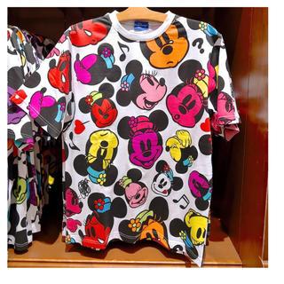 Disney - ディズニーリゾート 半袖Tシャツ 総柄 ミニー