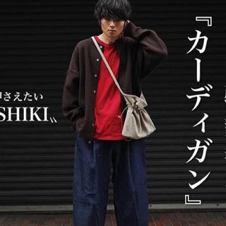 COMOLI - 名作19aw yashiki  comokage cardigan brown