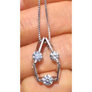 ダイヤモンドネックレス プラチナ