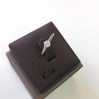 Tiffany & Co. - 正規品 ティファニー リングPt950 ダイヤモンド0.22ct