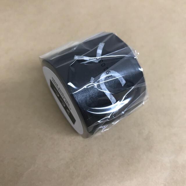 mina perhonen(ミナペルホネン)のminä perhonen tsuzuku black  インテリア/住まい/日用品の文房具(テープ/マスキングテープ)の商品写真