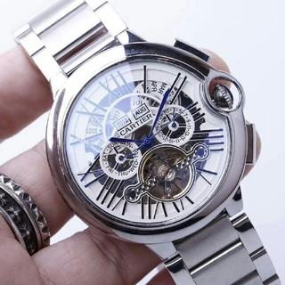 Cartier - Cartier 新品 カルティエ100m防水 自動巻き メンズ 腕時計