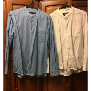 RAGEBLUE - レイジブルーバンドカラーシャツ 2点セット
