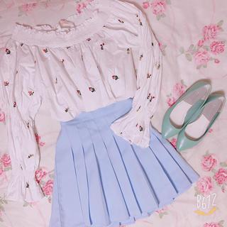ディーホリック(dholic)の韓国で購入!プリーツスカート (ミニスカート)