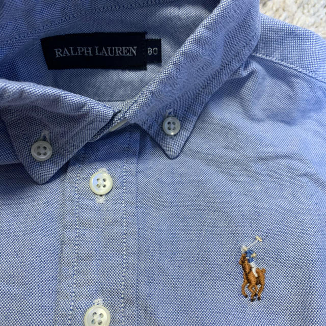 Ralph Lauren(ラルフローレン)のラルフローレン 80cm シャツ キッズ/ベビー/マタニティのベビー服(~85cm)(シャツ/カットソー)の商品写真