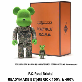 エフシーアールビー(F.C.R.B.)のF.C.Real Bristol × READYMADE  BE@RBRICK (その他)