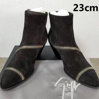 ジュゼッペザノッティ(GIUZEPPE ZANOTTI)の新品 ジュゼッペザノッティ ショートブーツ 23cm(ブーツ)