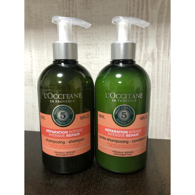 L'OCCITANE(ロクシタン)のロクシタン ファイブハーブス リペアリング シャンプー コンディショナー 500 コスメ/美容のヘアケア(シャンプー)の商品写真