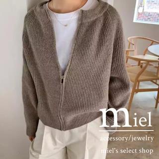 トゥデイフル(TODAYFUL)のcasual style knit cardigan/カジュアル ニット (カーディガン)