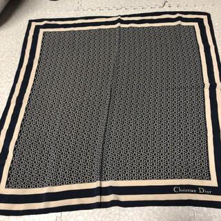 クリスチャンディオール(Christian Dior)のDiorスカーフ 即決で100円引き(バンダナ/スカーフ)