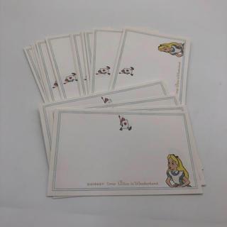 Disney - 不思議の国のアリス メッセージカード ディズニー アリス