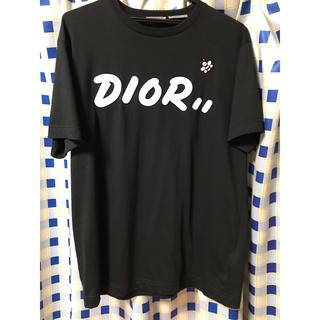 クリスチャンディオール(Christian Dior)のDior×KAWS 2019SS ロゴプリントTシャツ(Tシャツ/カットソー(半袖/袖なし))