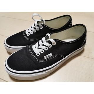 VANS - vans ヴァンズ black ブラック 24.5