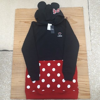 Disney - 新品タグ付き なりきり ミニーマウス チュニックパーカー