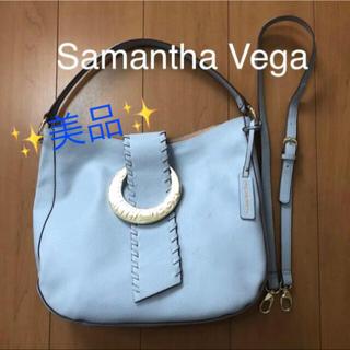 サマンサベガ(Samantha Vega)の【 美品 】 サマンサ ヴェガ 2way ハンドバッグ ショルダーバッグ (ショルダーバッグ)