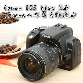 Canon - ★iPhoneへ写真を簡単転送!初心者おすすめ★キャノンEOS kiss N