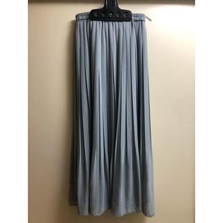 ユニクロ(UNIQLO)のUNIQLO プリーツスカート(ロングスカート)