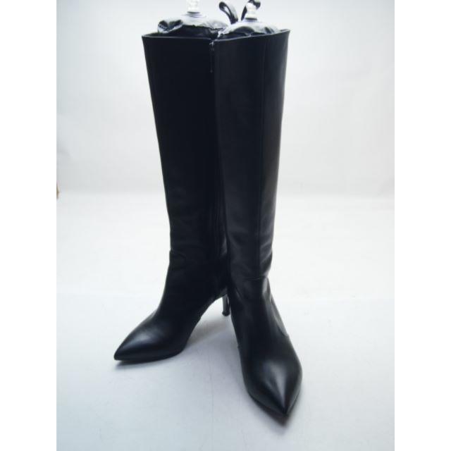 DIANA(ダイアナ)の★美品★DIANA★本革ブーツ 22.5 黒☆A144 レディースの靴/シューズ(ブーツ)の商品写真
