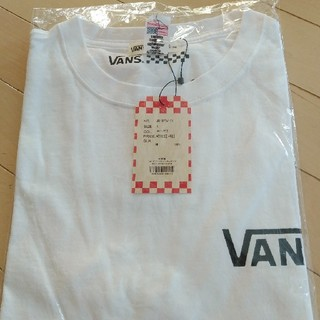 VANS - VANS  白Tシャツ メンズ L バンズ 新品未使用