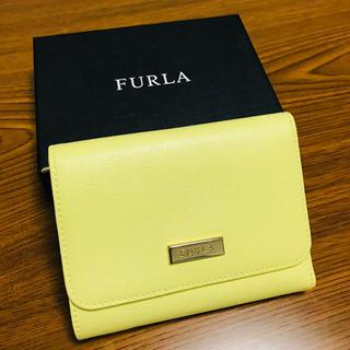 Furla - 美品☆フルラ ミニ財布 イエロー