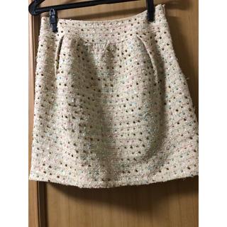 クローラ(CROLLA)のツィードドットスカート(ミニスカート)