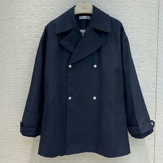 ディオール(Dior)のDiorディオール ジャケット レディース ブルー S  未使用(ライダースジャケット)