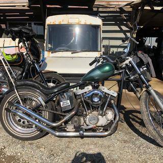 ハーレーダビッドソン(Harley Davidson)の1984年製XLH ハーレーダビッドソン リジット公認 車検残り半年以上(車体)