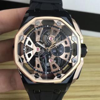 AUDEMARS PIGUET - クォーツ ラバーベルト オーデマピゲ 激売れ メンズ 腕時計
