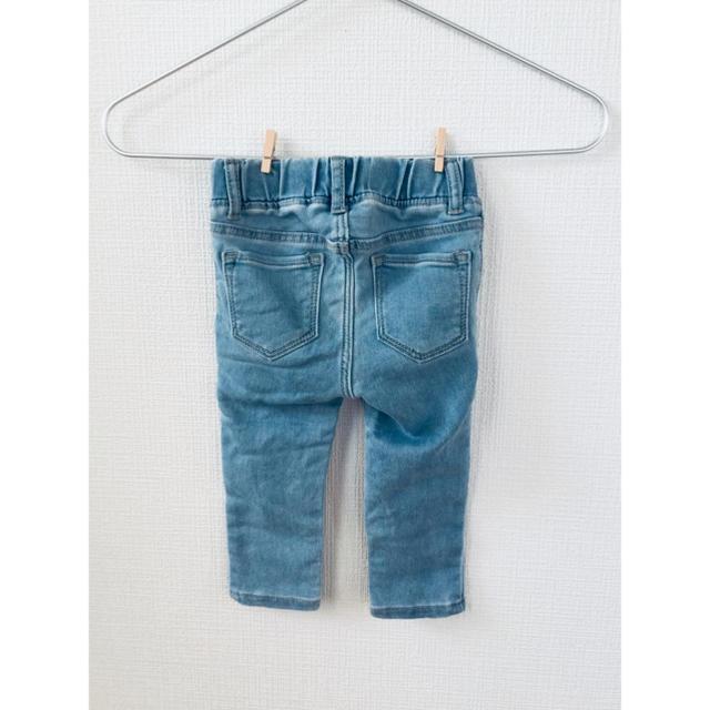babyGAP(ベビーギャップ)のbabyGAP デニムパンツ 女の子 80サイズ キッズ/ベビー/マタニティのベビー服(~85cm)(パンツ)の商品写真