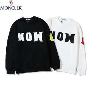 MONCLER - モンクレール カッコいい 人気商品 ロゴ 丸首 パーカー