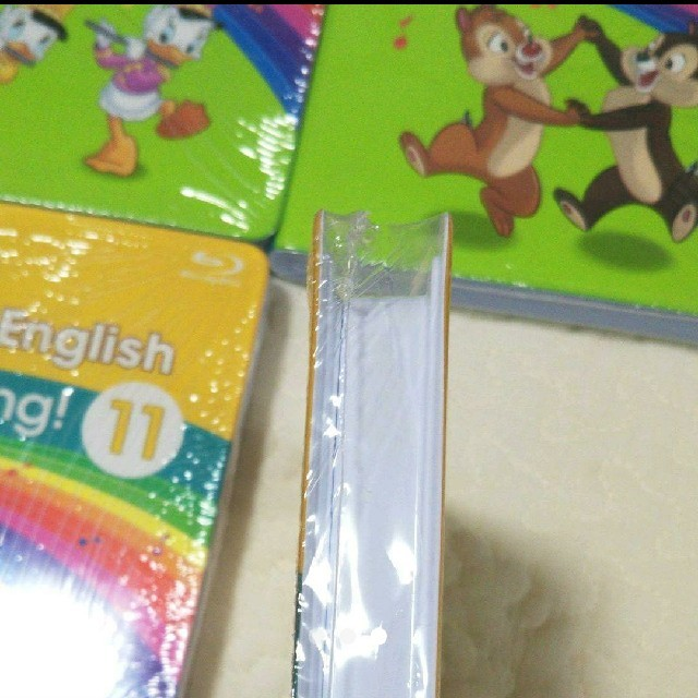 Disney(ディズニー)の最新版 DWE リニューアル シングアロング ブルーレイ ディズニー キッズ/ベビー/マタニティのおもちゃ(知育玩具)の商品写真