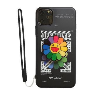 OFF-WHITE - iPhone11カバー スマホケース 定番デザイン オフホワイト ストア内にもあ